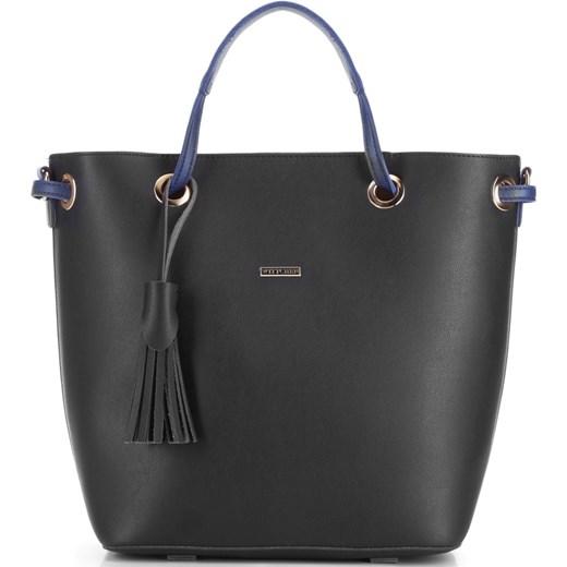 84d50a4863cc1 Shopper bag Wittchen matowa elegancka ze skóry ekologicznej duża w ...