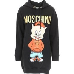 5968559e3a4e2 Sukienka Moschino w stylu młodzieżowym midi
