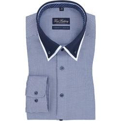 e32b764a899e Koszula męska Tom Rusborg z długim rękawem wiosenna casual w abstrakcyjne  wzory