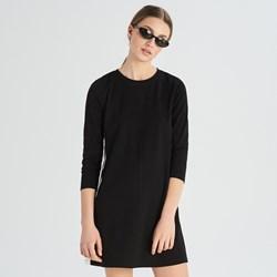 965a3fe465 Sukienka Sinsay sportowa z okrągłym dekoltem z długimi rękawami mini