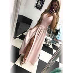 3e8f81f2d3 Sukienka Pakuten z dekoltem w literę v bez rękawów maxi