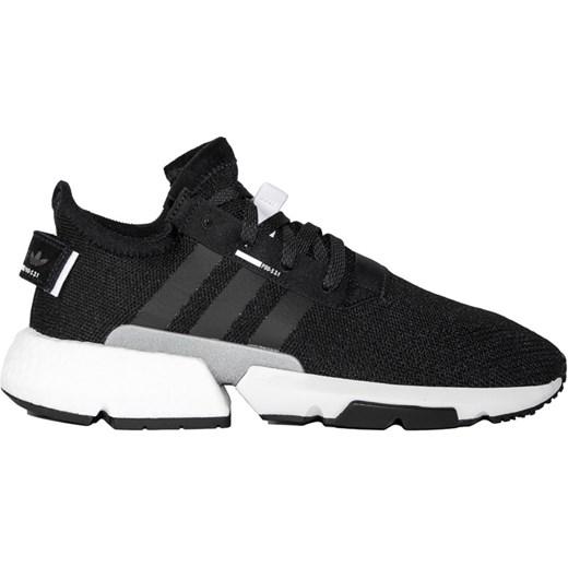 9c072440ee9a5 Buty sportowe męskie czarne Adidas wiązane z zamszu na jesień w Domodi