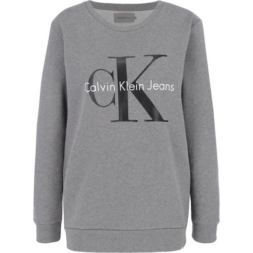 cb091402af6ff Bluza damska Calvin Klein z napisami krótka w Domodi