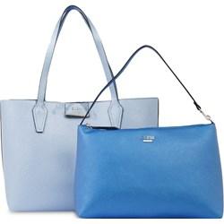 76766fabfd939 Shopper bag Guess bez dodatków matowa na ramię młodzieżowa średniej  wielkości