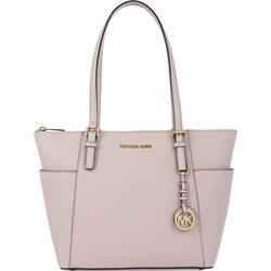 9812692f0dc28 Michael Kors shopper bag bez dodatków różowa matowa
