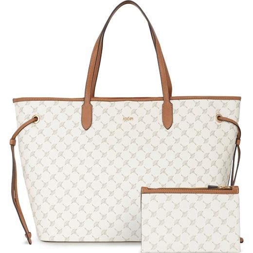 15adedb5bfc8f Shopper bag Joop! z nadrukiem na ramię casualowa mieszcząca a5 w Domodi