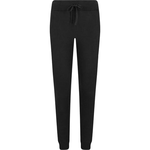 479cc59c7b68c Spodnie damskie Calvin Klein Underwear czarne dresowe młodzieżowe w ...