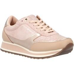 e278a974d45a6 Sneakersy damskie Tommy Hilfiger na wiosnę gładkie sznurowane