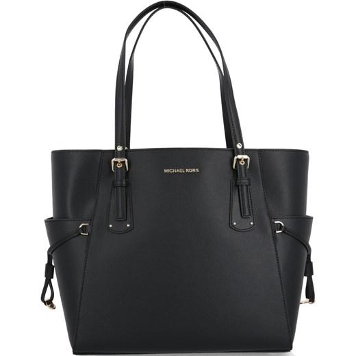 863b7857a657d Shopper bag Michael Kors elegancka skórzana bez dodatków matowa na ramię