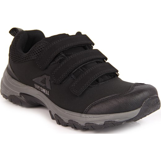 067cad31fe453 American Club buty trekkingowe damskie sportowe czarne płaskie na rzepy ·  Buty trekkingowe damskie American Club na rzepy czarne wiosenne gładkie ...