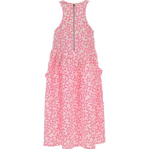 77f3aaf9 Różowa sukienka dziewczęca Stella Mccartney