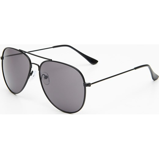d3323ca21e32c6 Cropp - Okulary aviatorki - Czarny Cropp One Size