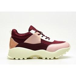 ce8ba3cb4dcfe Sneakersy damskie Cropp na obcasie wiązane młodzieżowe bez wzorów