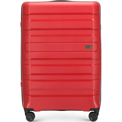 c8ea309a9197f Czerwona walizka Wittchen w Domodi