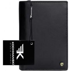 d94bedbf16359 Czarny portfel męski Kochmanski Studio Kreacji®