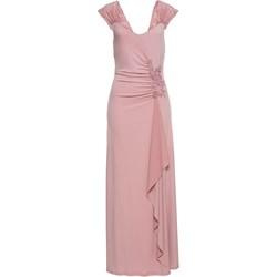 d530cca2dd Bonprix. Sukienka różowa Bodyflirt Boutique na karnawał z dekoltem v prosta