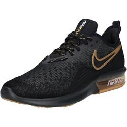 finest selection 08f72 399c8 Czarne buty sportowe męskie Nike air max sequent