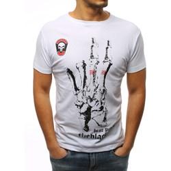 0f1583abaa Dstreet t-shirt męski poliestrowy z krótkim rękawem