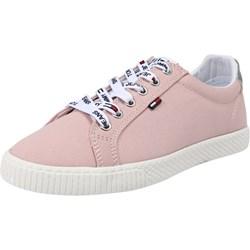 c039831d27ae3 Różowe trampki damskie Tommy Jeans sportowe sznurowane