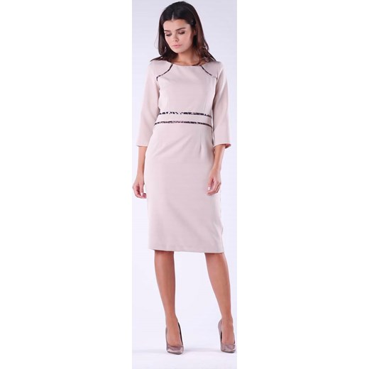 fa0ea69df2 Sukienka Nommo z długimi rękawami w Domodi