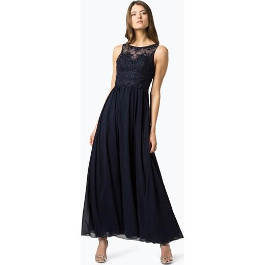 930e990574a6 Sukienka Laona na karnawał z okrągłym dekoltem w Domodi