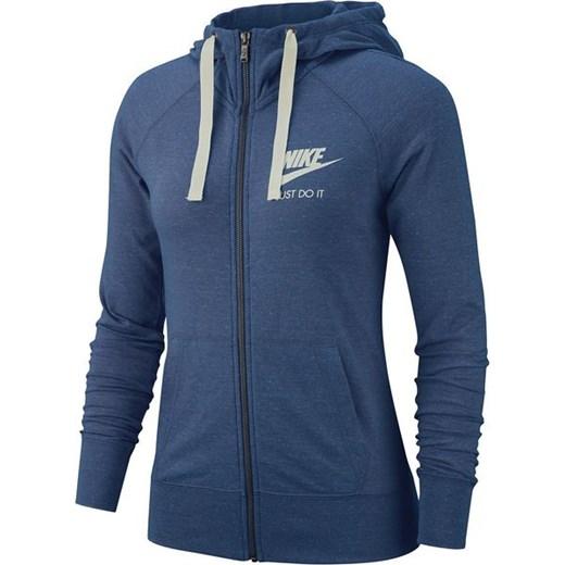 a586b9b8d Bluza damska Sportswear NSW Gym Vintage FZ Nike (niebieska) Nike S  wyprzedaż SPORT-