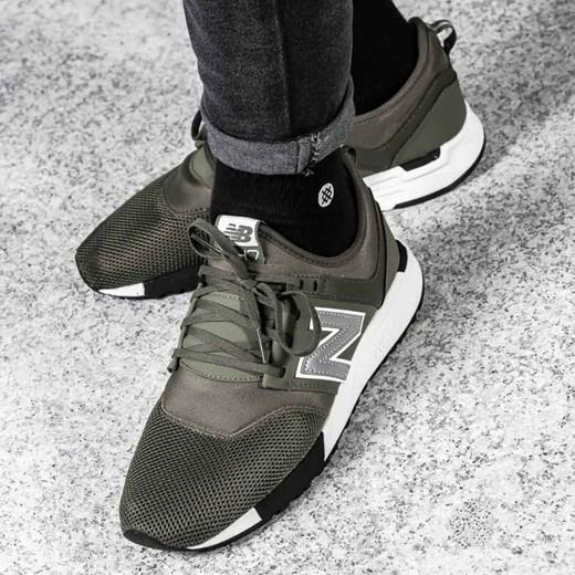 nowe niższe ceny kupuję teraz dostać nowe Buty sportowe męskie New Balance zielone sznurowane