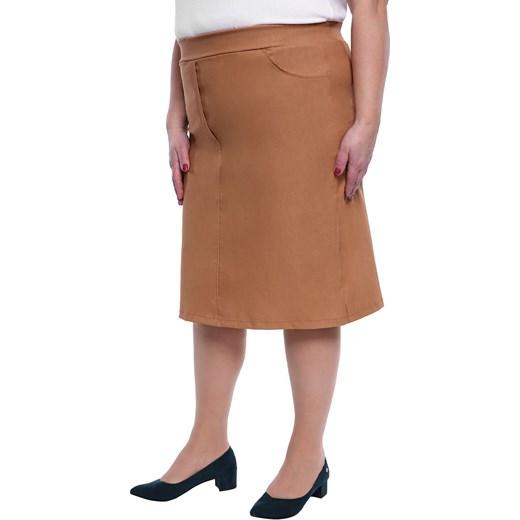 Spódnica midi Odzież Damska WR Spódnice GVON trwałe modelowanie