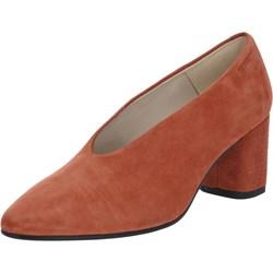 a4e7ea06eca1 Półbuty damskie Vagabond Shoemakers gładkie eleganckie skórzane na obcasie