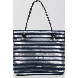 c8a61a80c0585 Shopper bag Monnari młodzieżowa mieszcząca a4 ze zdobieniami bez dodatków