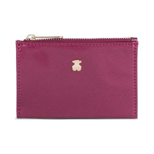 777117004078c Tous portfel damski różowy elegancki w Domodi