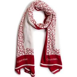 81d8e988c9e55d Szalik/chusta Calvin Klein w abstrakcyjnym wzorze casual ...