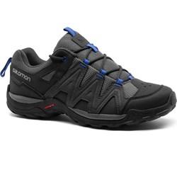 6ecda7145fa3f Buty trekkingowe męskie Salomon czarne sportowe jesienne