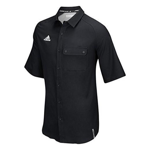4caaecd3d6550 Czarna koszula męska Nike z krótkim rękawem w Domodi