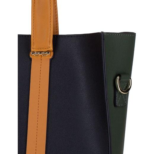 5e5c8fefde4e6 ... Shopper bag Wittchen na ramię elegancka duża z kokardką
