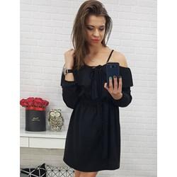 f3c19aa052 Sukienka Dstreet z długimi rękawami z elastanu