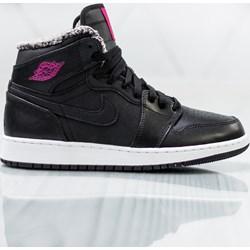 san francisco bb5b1 1174d Buty sportowe damskie Jordan czarne sznurowane płaskie
