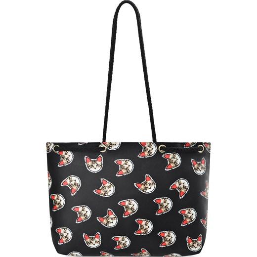 b9df5c419b822 Shopper bag na ramię bez dodatków duża w Domodi
