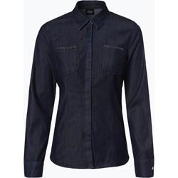 6b59f6bce46c8c Koszula damska S.oliver Black Label z kołnierzykiem jeansowa na jesień z  długimi rękawami