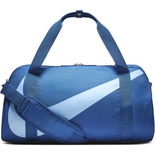 259f6cc9cca50 Niebieska torba sportowa Nike w Domodi
