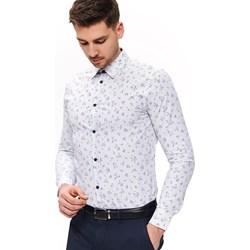 720b0859d2cdb0 Top Secret koszula męska biała z klasycznym kołnierzykiem