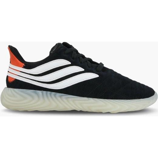 Buty sportowe męskie Adidas Originals sznurowane czarne z zamszu