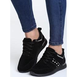 d318ec9e0d5c3 Czarne buty damskie na platformie, wiosna 2019 w Domodi