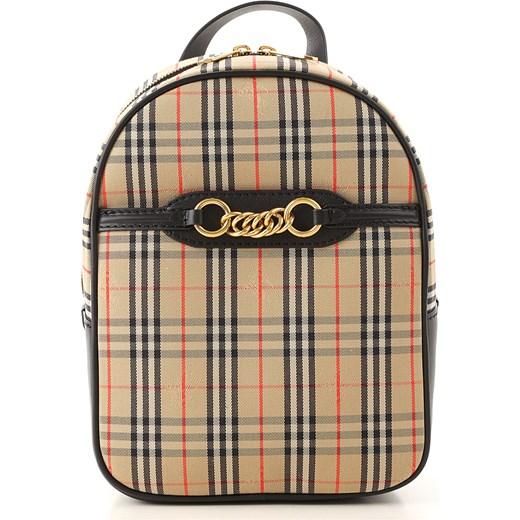 56fb9292d2126 Burberry plecak brązowy w Domodi