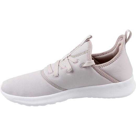 Buty sportowe damskie Adidas sneakersy cloudfoam na koturnie gładkie