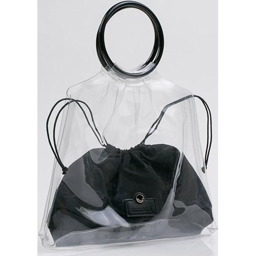 a01b08a74b560 Monnari torba letnia duża do ręki lakierowana wakacyjna; Torba letnia  Monnari wakacyjna duża lakierowana ...