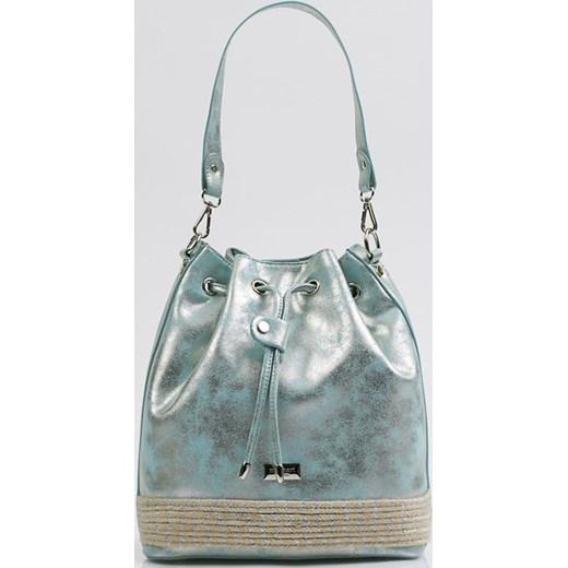 6513b69a0f0b3 Połyskująca torebka typu worek Monnari One Size E-Monnari ...