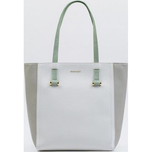 aec1b0eb91823 Monnari shopper bag ze skóry ekologicznej matowa bez dodatków w Domodi
