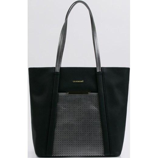 e288a6f0faf1c Monnari shopper bag na ramię ze skóry ekologicznej duża w Domodi