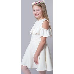 947b049cf7 Białe sukienki dziewczęce letnie tutu princess